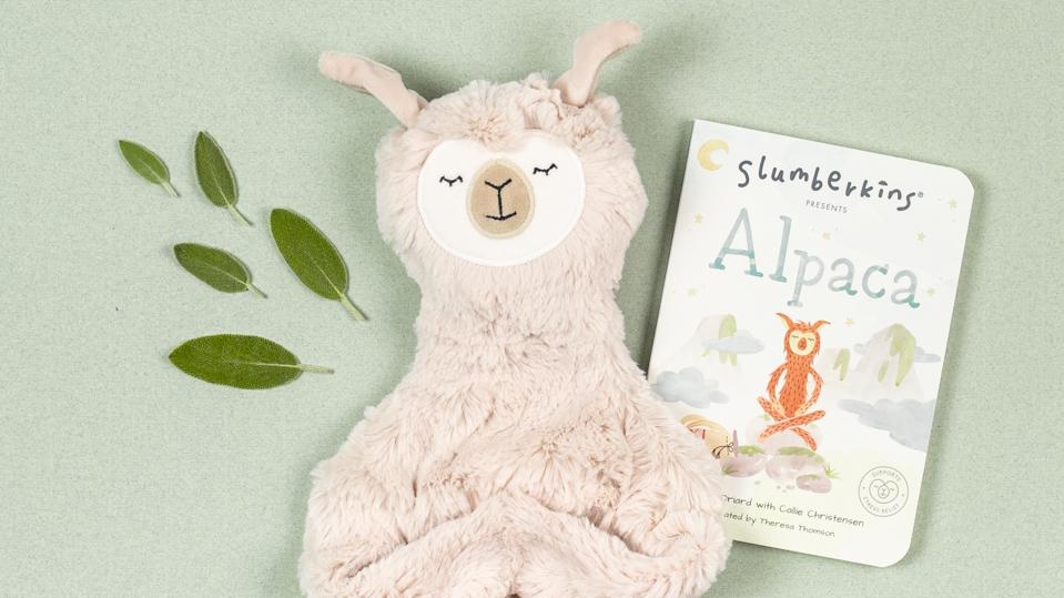 A cuddly alpaca named Hazel comforts children as they learn about their feelings and emotional well-being.
