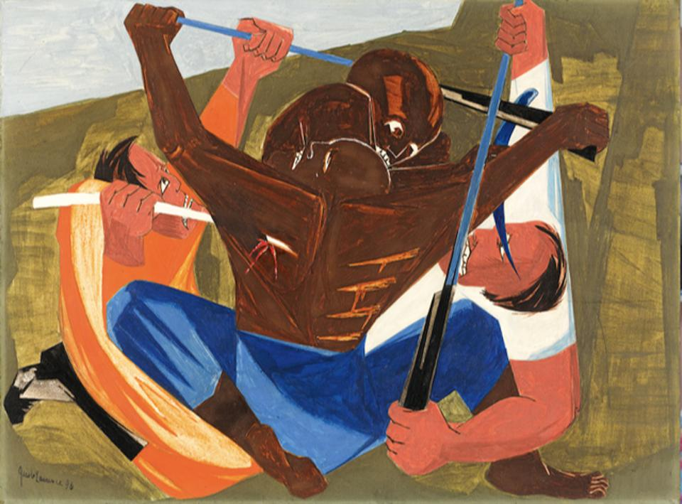 Panel 27 from Struggle: From the History of the American People by Jacob Lawrence