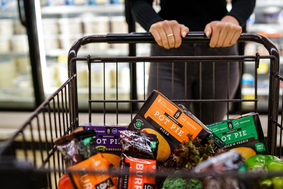 Alpha Foods has grown its portfolio from four to more than 25 vegan and non-GMO products.