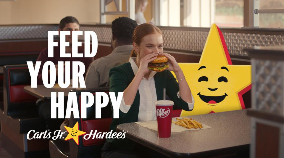 CKE Restaurants' Happy the Star.