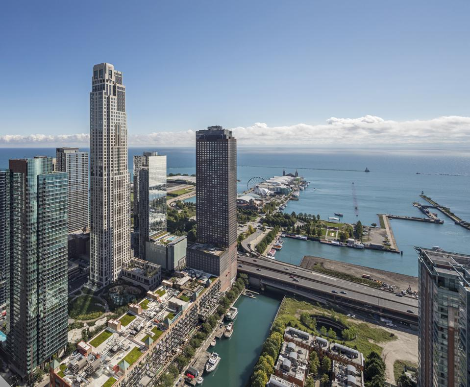 One Bennett Park is a residential high-rise in the Streeterville neighborhood of Chicago.