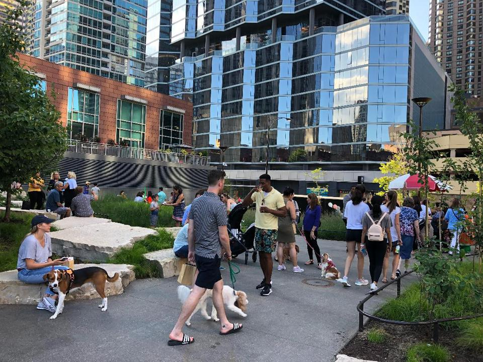 Related Midwest hosted a grand opening celebration on August 6, 2019 for Bennett Park in Chicago's downtown Streeterville neighborhood.