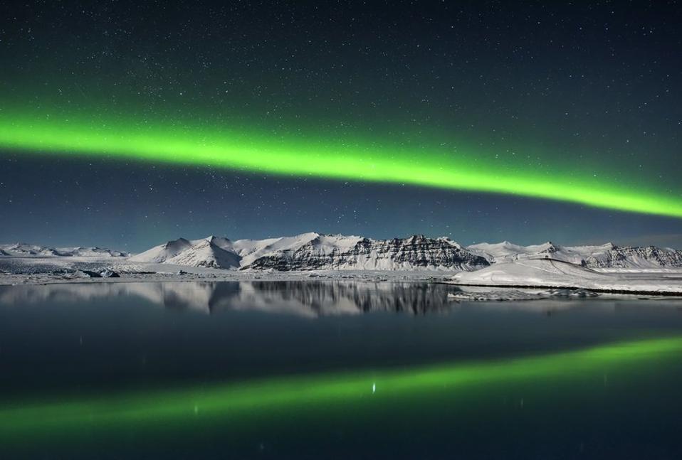 Giles Rocholl's unusual image is from Jokulsarlon, Iceland.
