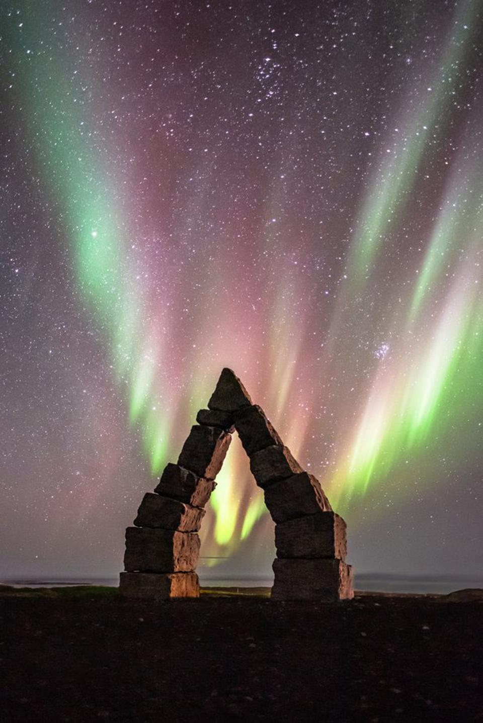 A image from Raufarhofn in Iceland, by James Rushforth.