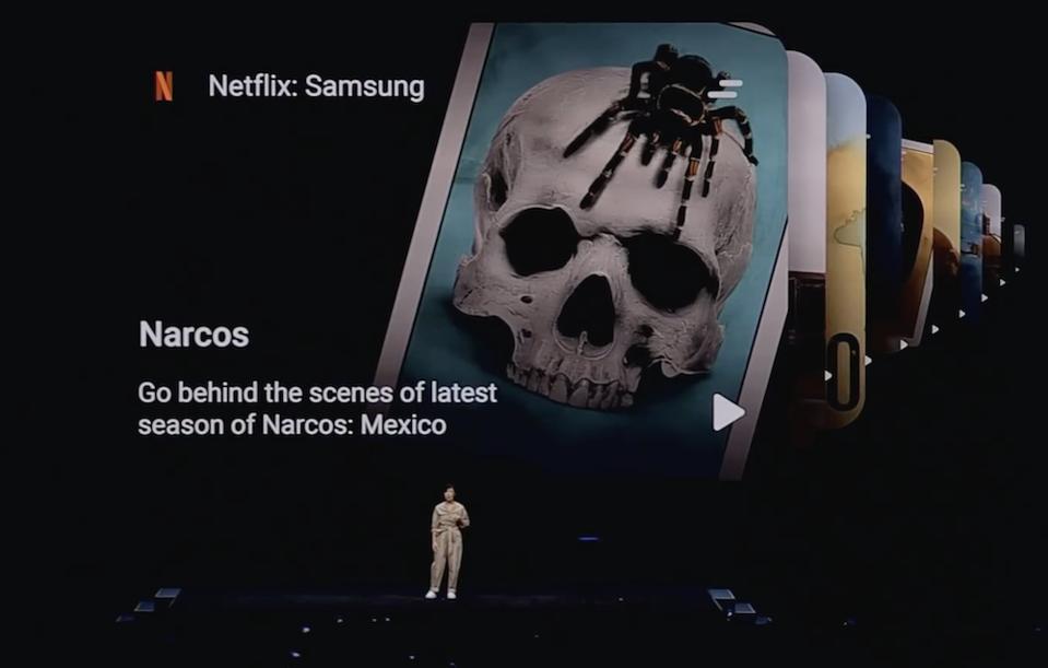Netflix announces Mobile Partnership with Samsung Galaxy phones.