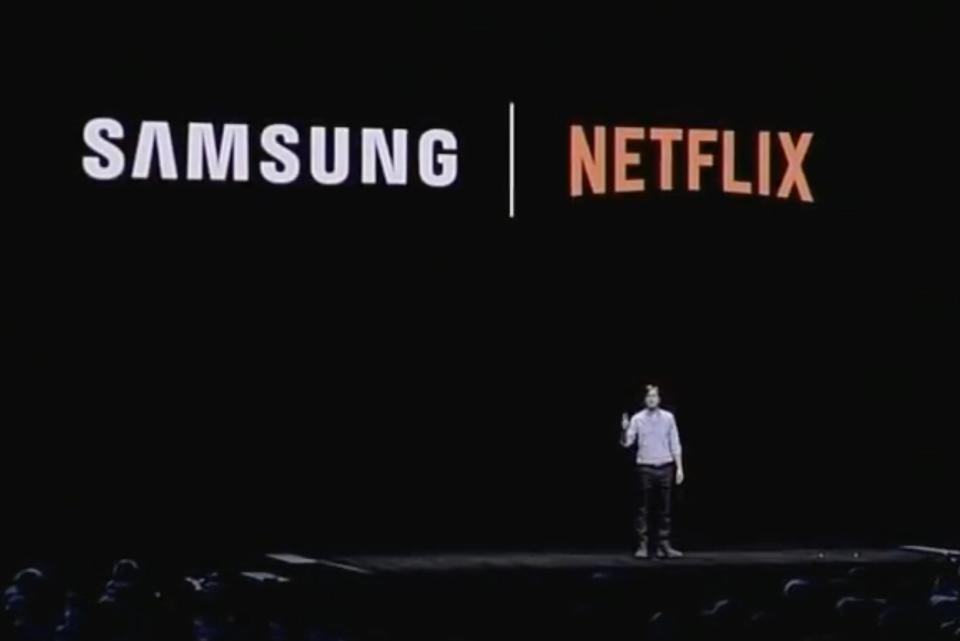 Netflix and Samsung announce new Mobile Partnership, including exclusive content.