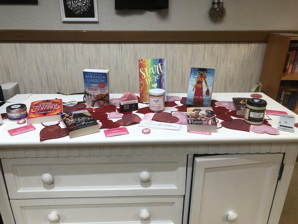 romance bookstore bookstores genre love's sweet arrow tinley park