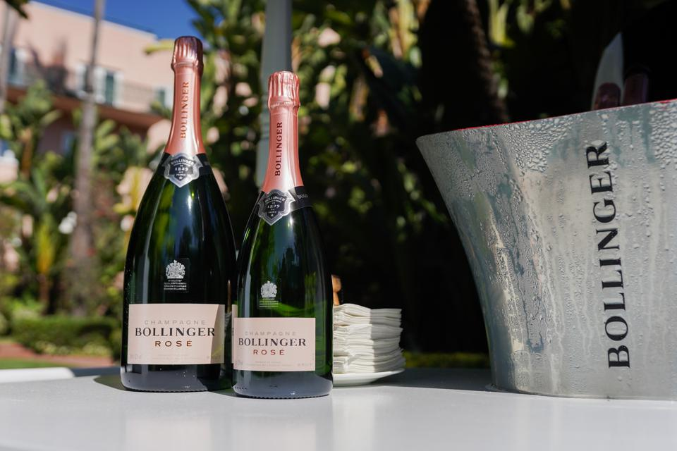 Bollinger Rosé is a food-friendly Champagne that's also great on its own.
