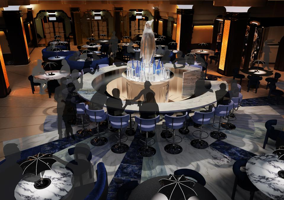 Guests will feel like an extra on the set of the Batman movies at a new restaurant in London