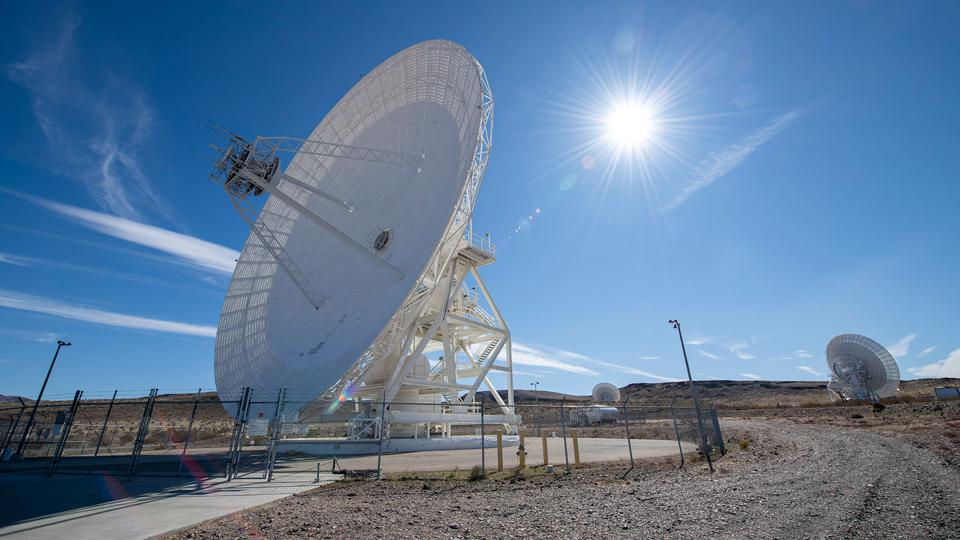 On Feb. 11, 2020, NASA, JPL, military and local officials broke ground in Goldstone, California, for a new antenna in the agency's Deep Space Network, which communicates with all its deep space missions.