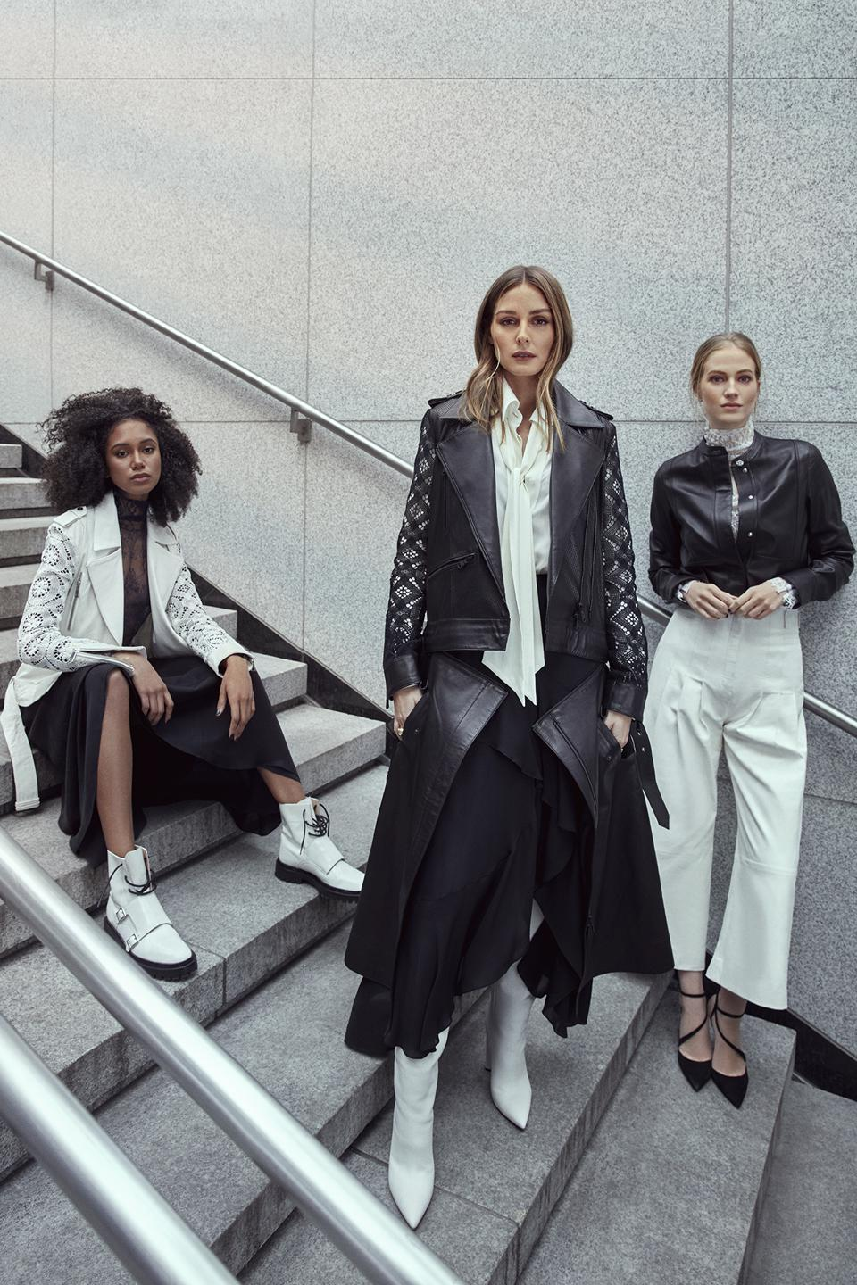 A look from the Olivia Palermo Spring Summer 2020 campaign