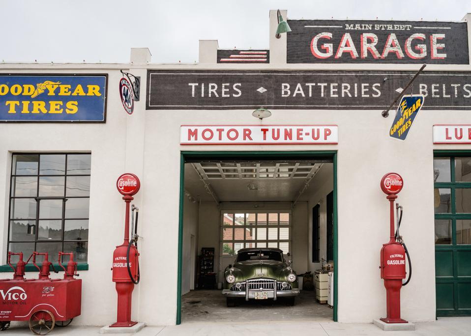 Old Garage, Helper, Utah