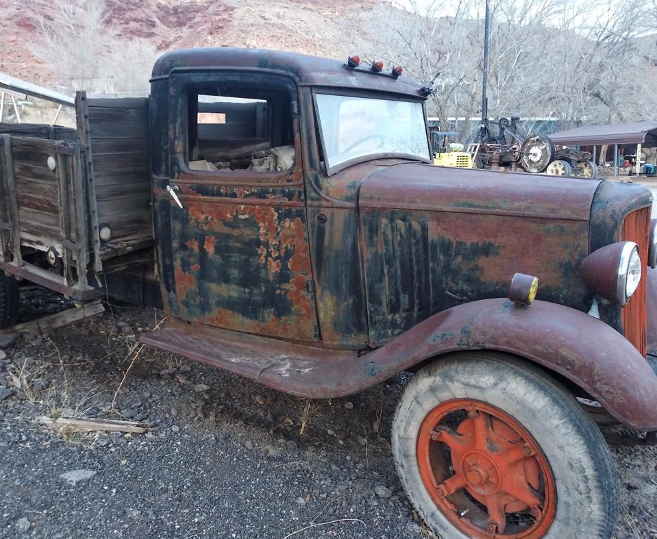 Old truck in Moab, Utah.