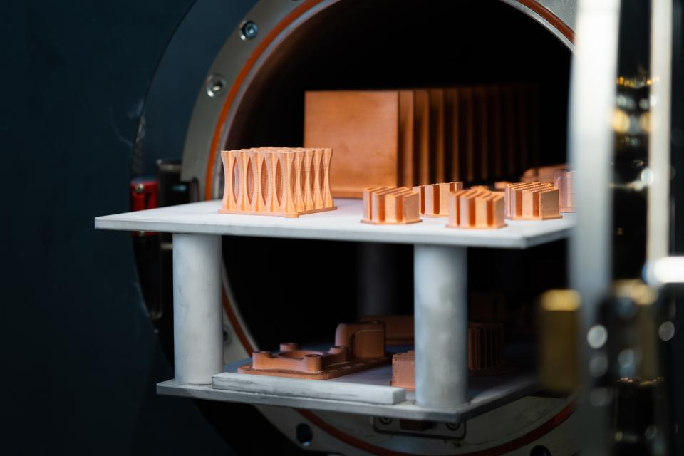 Markforged has come up with a way to successfully 3D print copper parts.