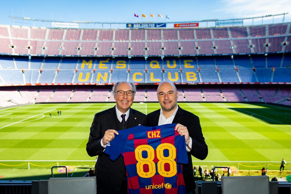 FC Barcelona have launced an exclusive blockchain partnership with Chiliz this morning