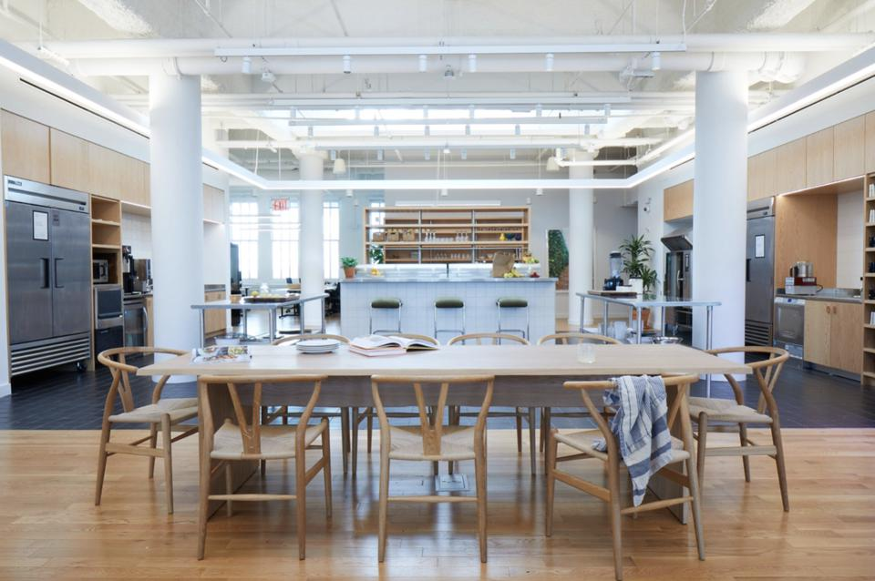 R&D Kitchen at New York WeWork Food Labs: Courtesy of Alexandra Rowley/The LuupeWeWork