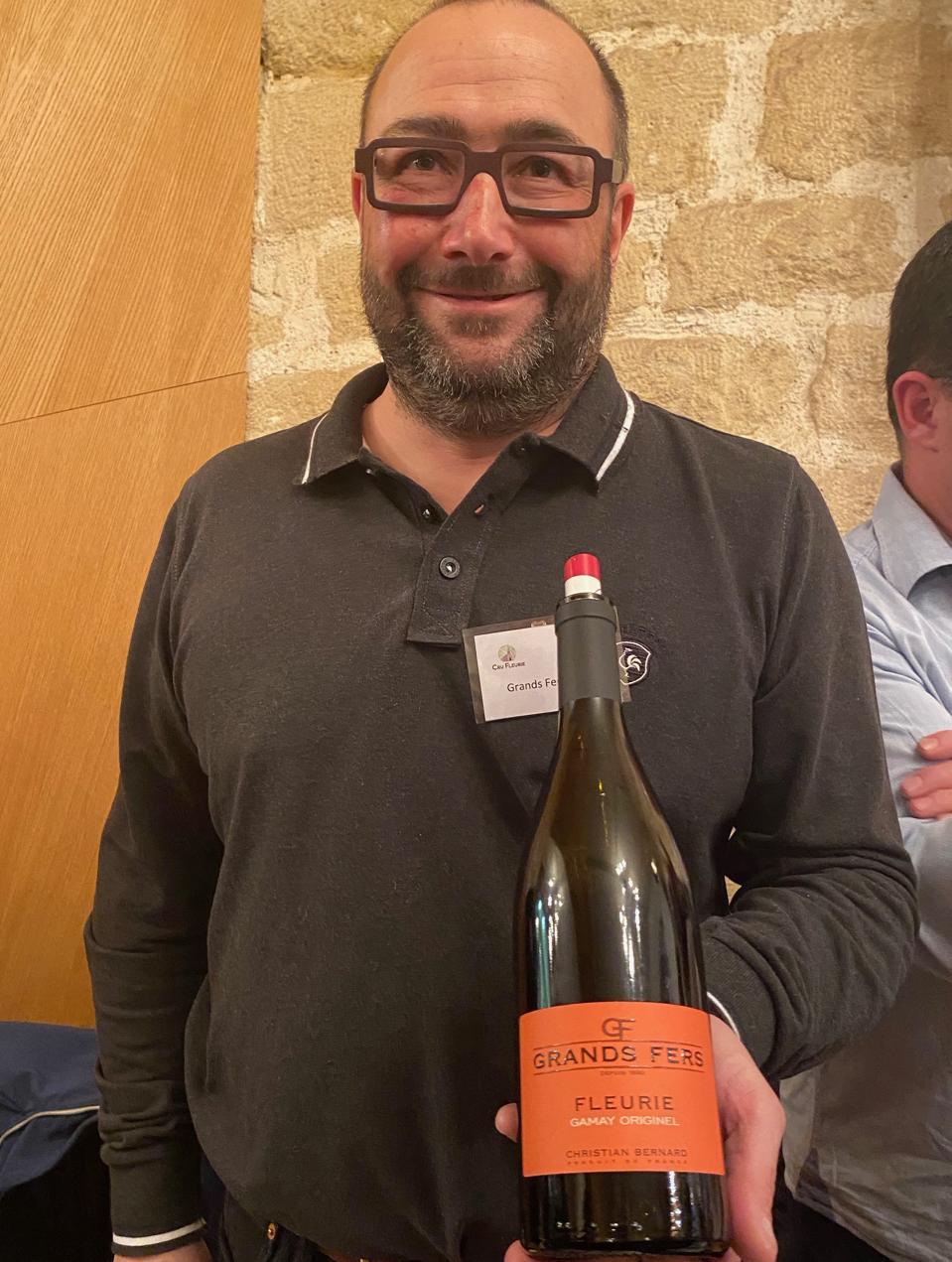 Christian Bernard of Grand Fers wines