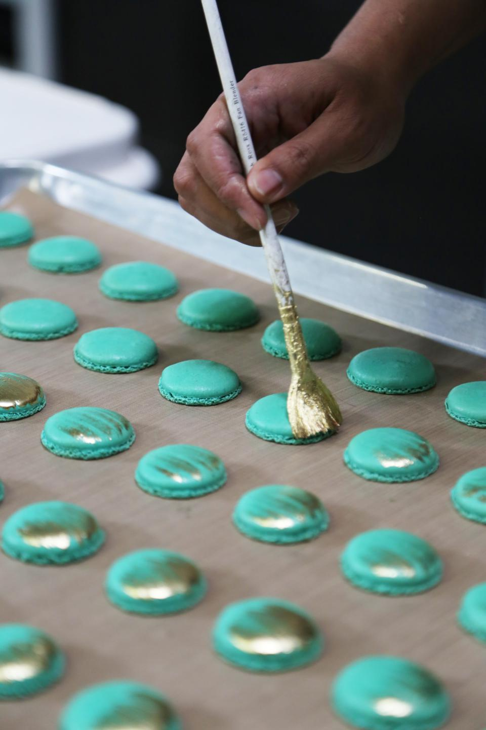 Hervé, Cannabiniers, luxury cannabis, gourmet edibles, cannabis-infused macarons
