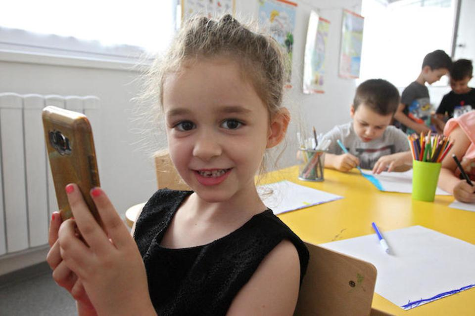 Kids are never too young to learn about online safety. Vasilisa, 6, lives in Serbia, and she and her mother took part in UNICEF-supported workshops held at her preschool to teach the entire family how to stay safe on the internet.