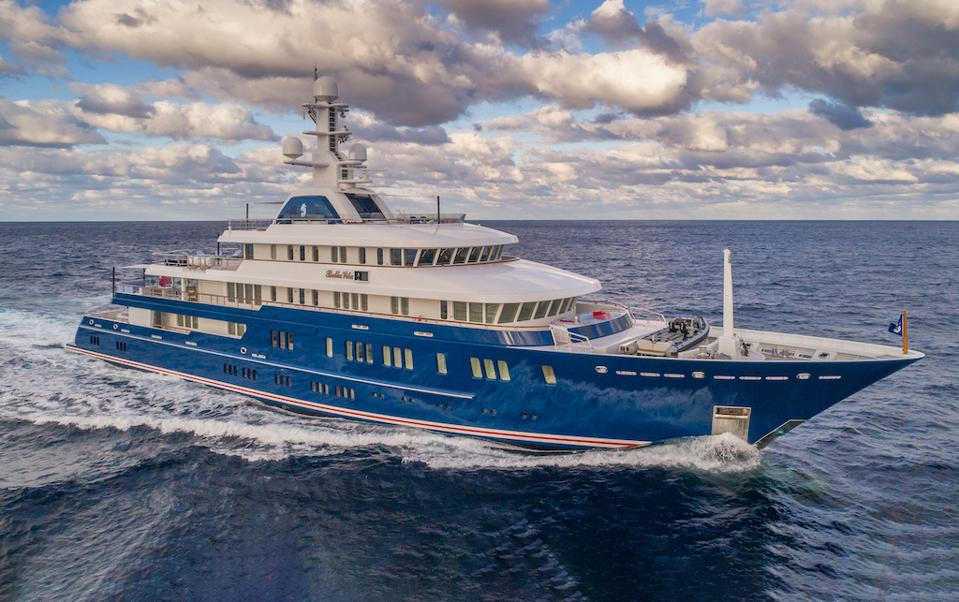 Bella Vita is one of the largest yachts at the 2020 Miami Yacht Show