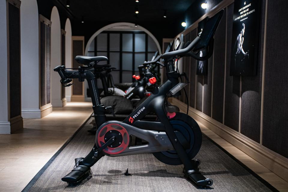 PELOTON SHOWROOM