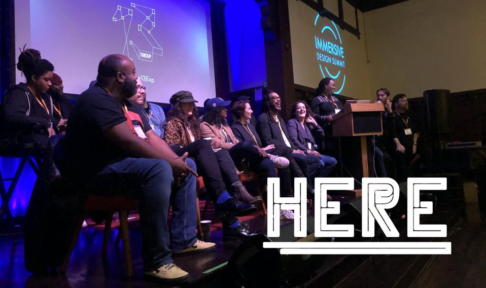 HERE Summit & Festival is the evolution of the Immersive Design Summit