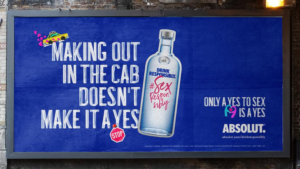 Absolut Vodka launches new campaign