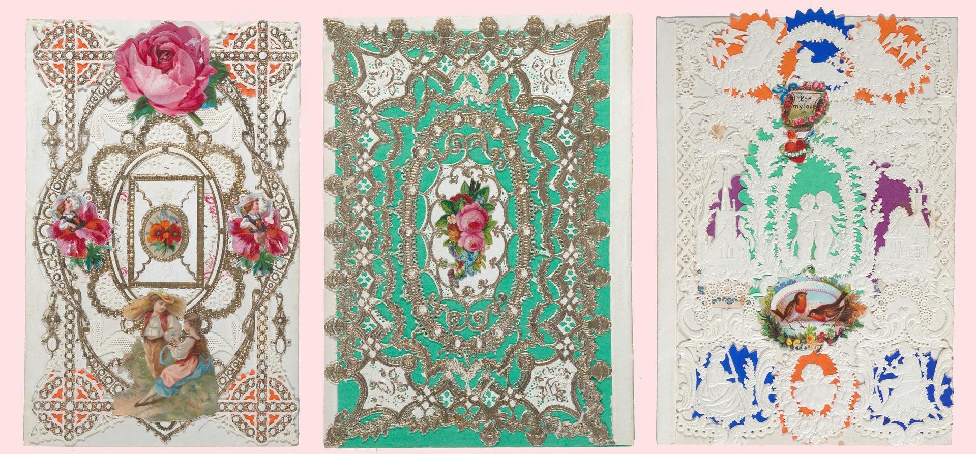 esther-howland-valentine-three-cards-pink