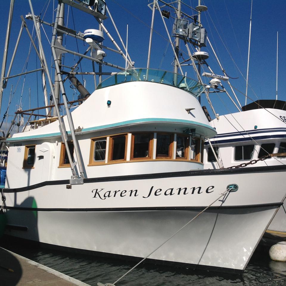 Bodega Bay California, fishing boat docked