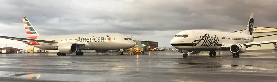 Resultado de imagen para alaska airlines american airlines