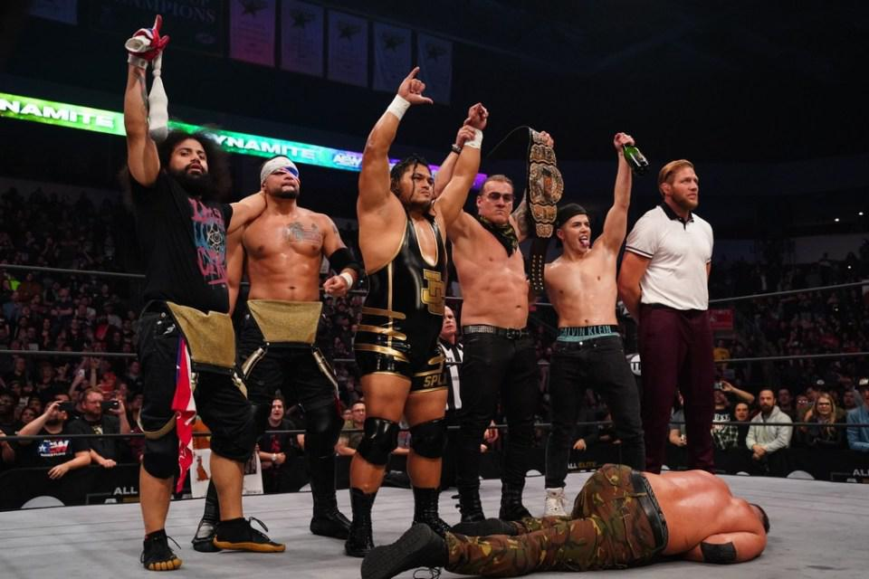 AEW Dynamite WWE NXT Jeff Cobb Chris Jericho Inner Circle Jon Moxley