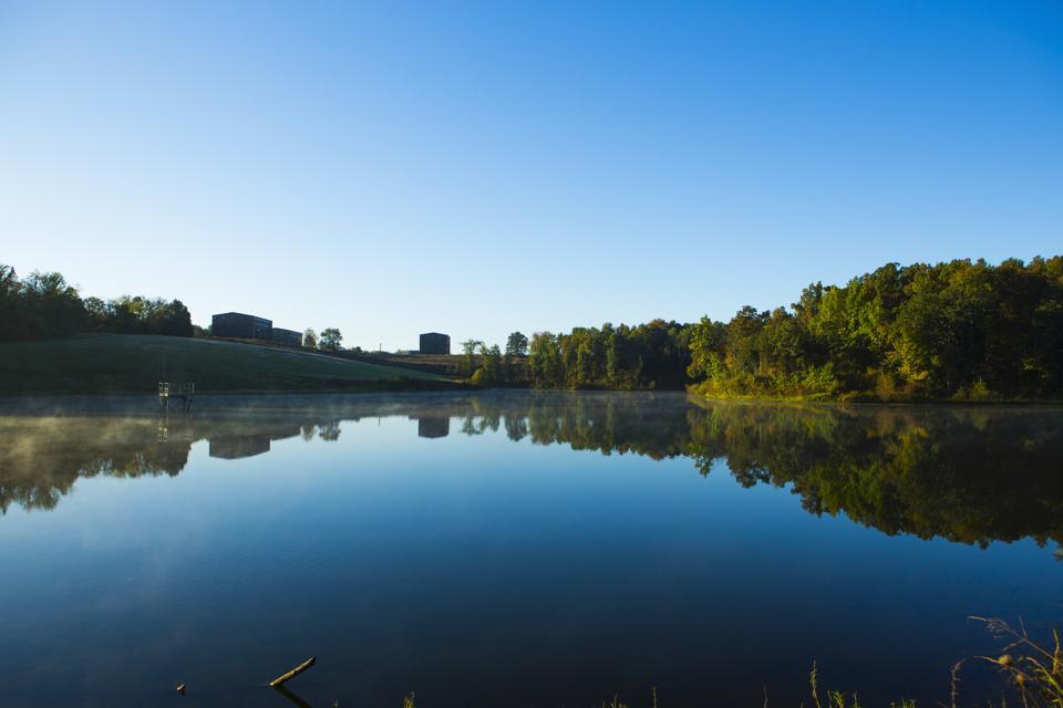 lake at Maker's Mark