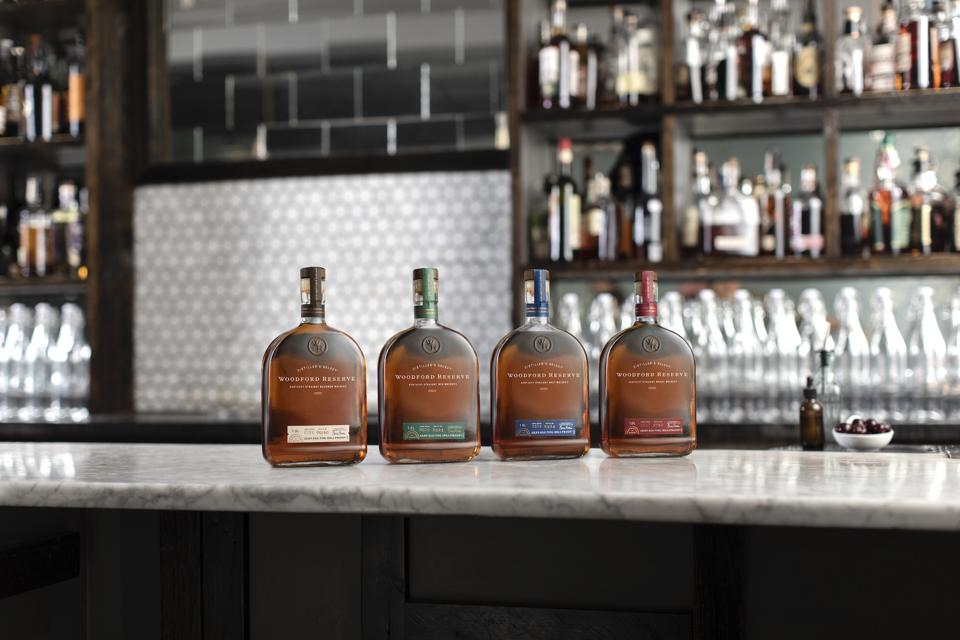 Woodford Reserve straight whiskey