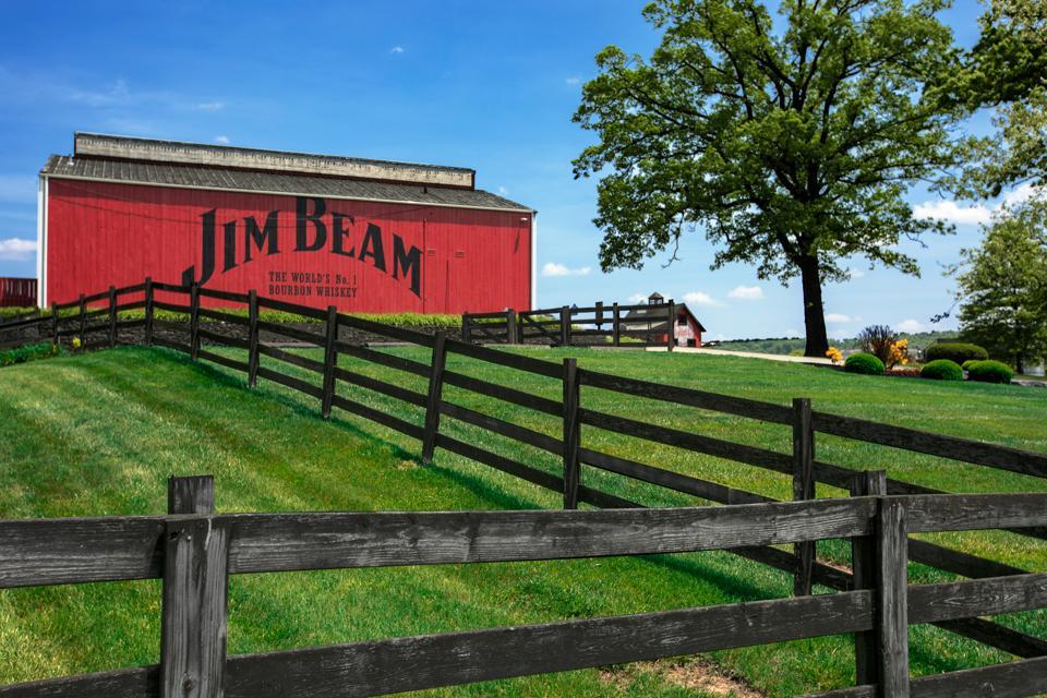 Jim Beam red barn
