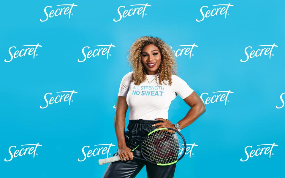 Serena Williams And Secret Deodorant Partner Together To Advance Gender Equality In Sports