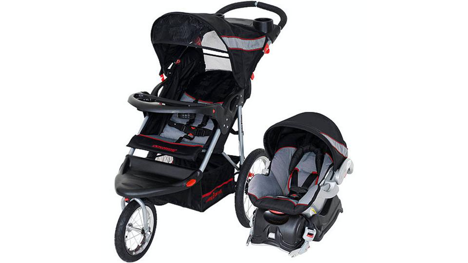 Baby Trend Expedition Jogger Travel System on a white background.