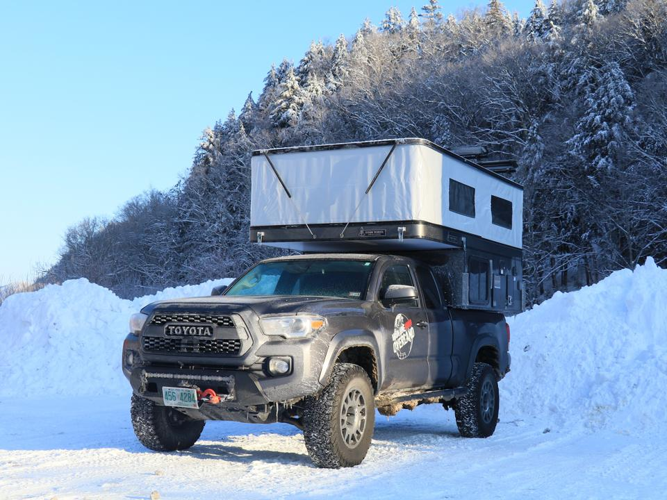 Overland Toyota Tacoma Camper truck