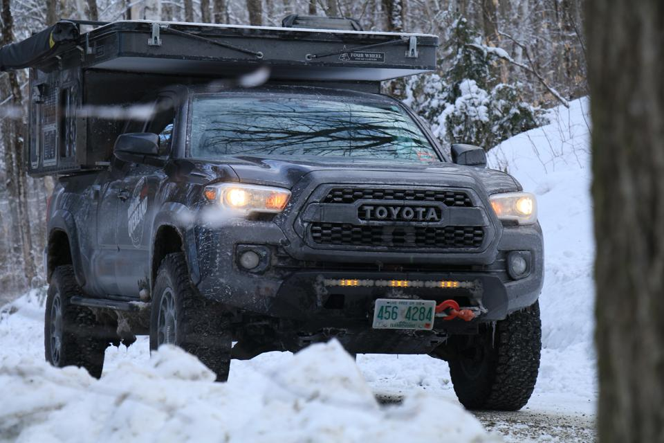Overland Toyota Tacoma Camper