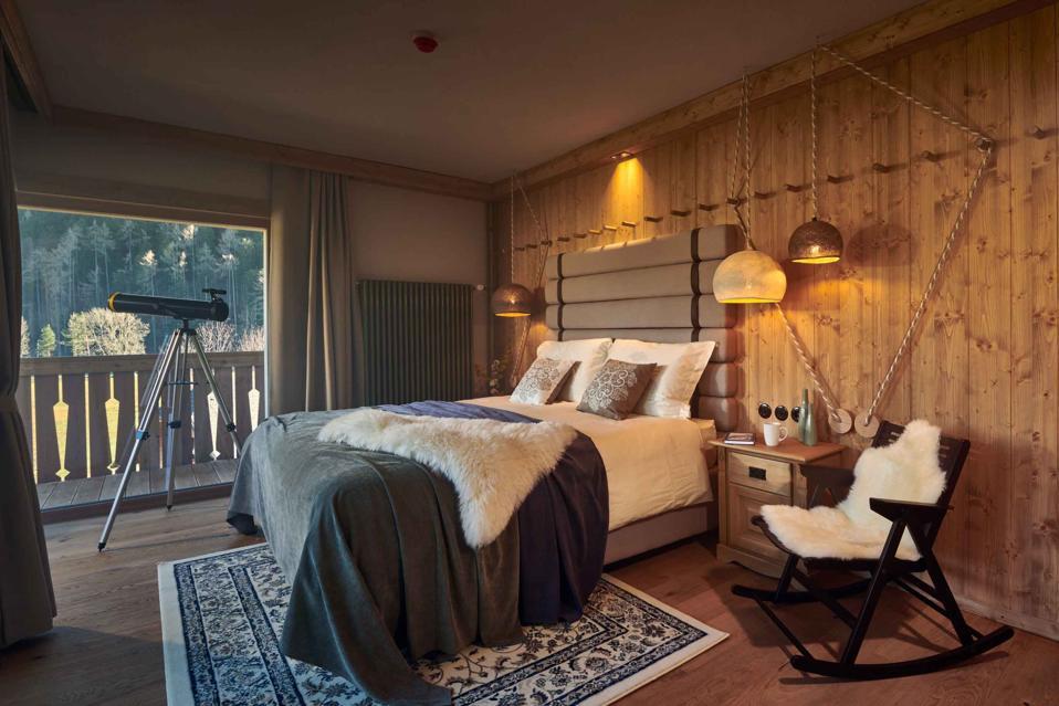 Les 23 chambres de Vila Planinka en Slovénie présentent les dernières nouveautés en matière de cabine élégante