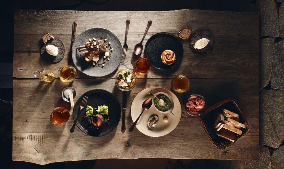 Le restaurant de Vila Planinka présente des ingrédients de saison totalement slovènes