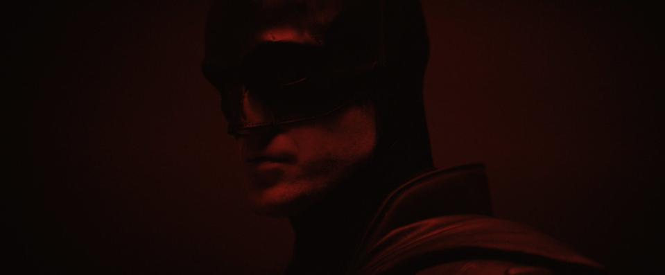 Pattinson as The Batman