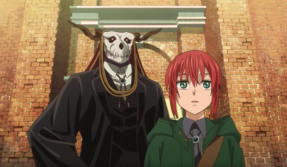 'The Ancient Magus' Bride' is an anime retelling of 'Beauty and the Beast.'