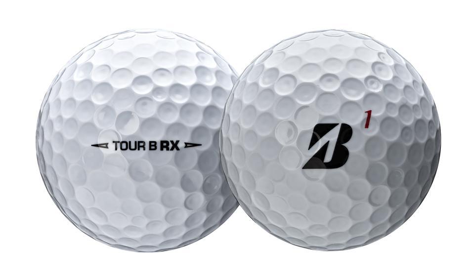 Bridgestone's new BSG Tour B RX balls.