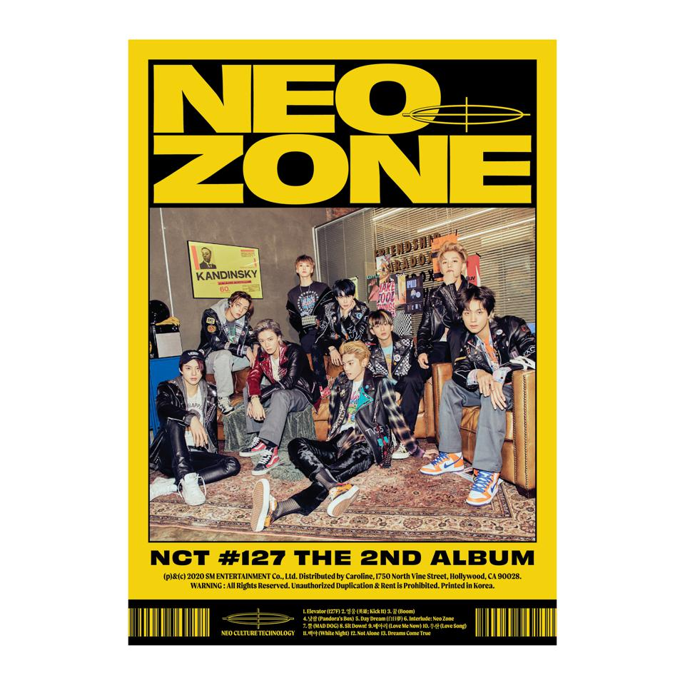 'NCT #127 NEO ZONE' physical cover N version full