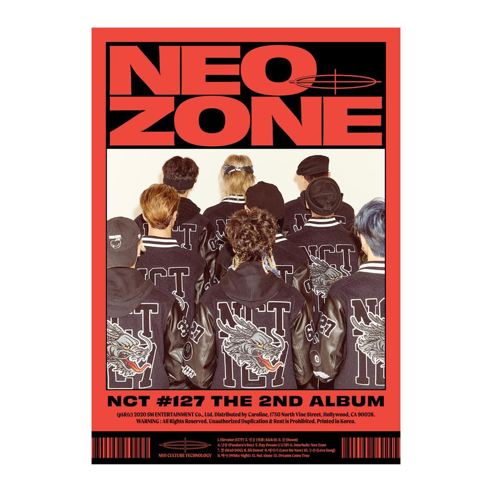 The 2nd Album 'NCT #127 NEO ZONE' physical cover C version full HD