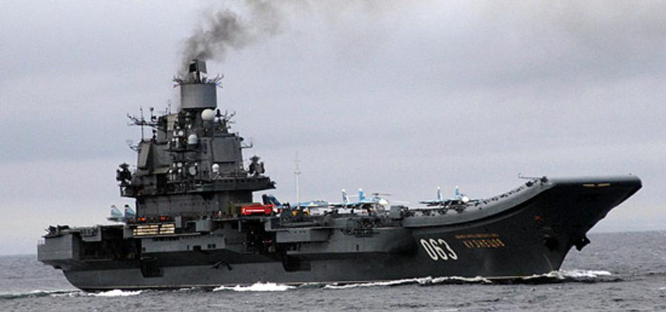 Russia's Next Aircraft Carrier Will Likely Be Nuclear