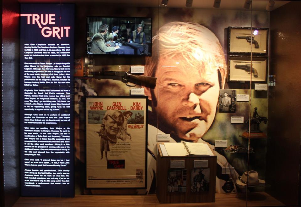 Glen Campbell starred in ″True Grit″ with John Wayne