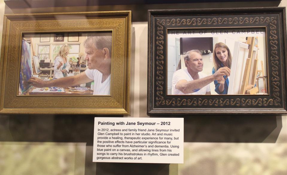 Exhbiti at the Glen Campbell Museum in Nashville