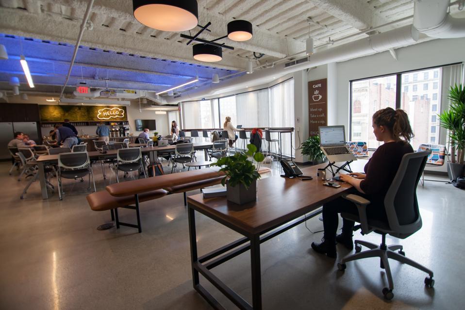 Boston, MA - View of Workbar's Back Bay location
