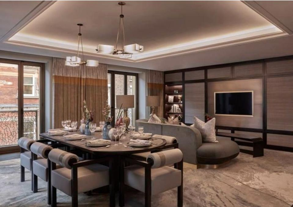 Clarges Mayfair Living Room